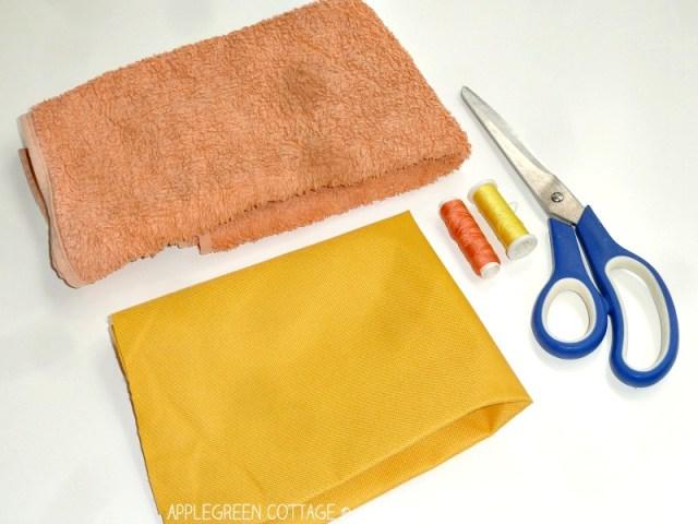 diy mop pad materials