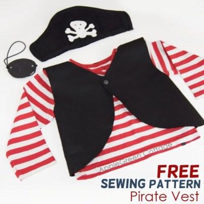 homemade pirate costume