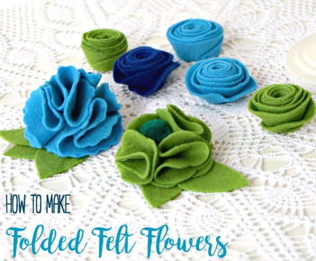 free template for diy felt flowers