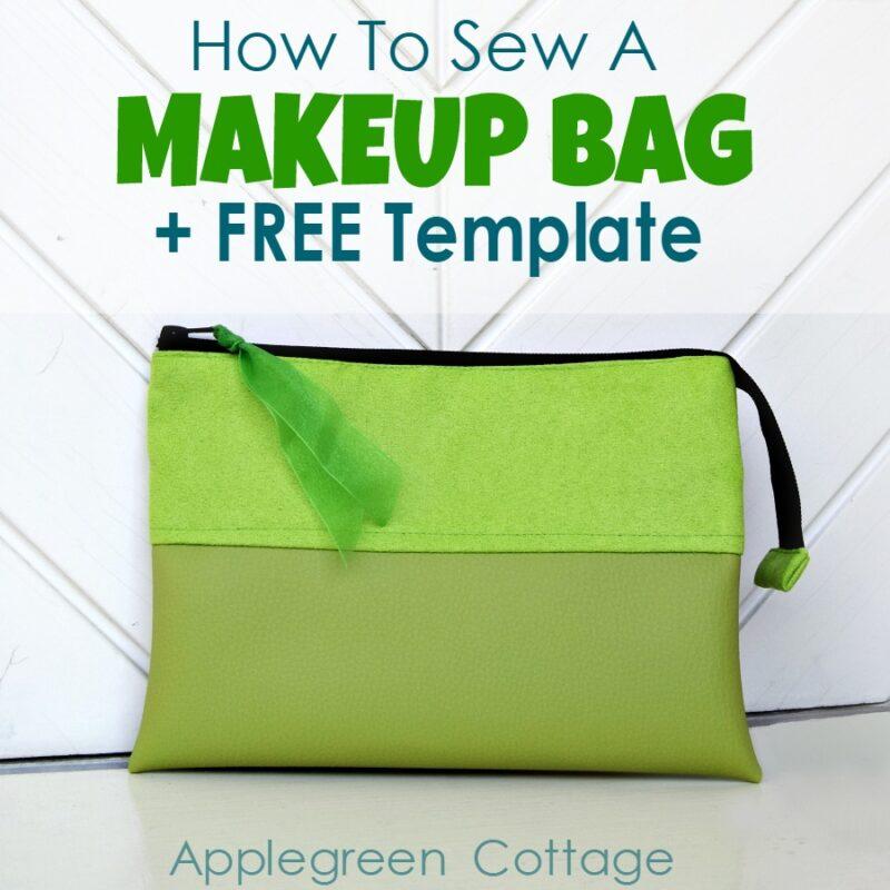 makeup bag free pattern
