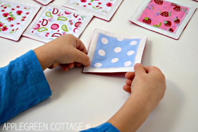AppleGreen Cottage: 6 Cutest DIY Memory Games To Sew