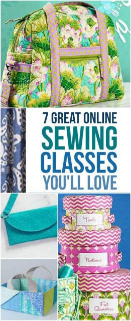 7 great online sewing classes you'll love. I found them on Craftsy, a popular online sewing platform, and a go-to place for many, many of my sewing friends. I love it, too! I picked them out while thinking what could be THE BEST Christmas presents to give to YOURSELF this year. Check them out and see if I'm right!