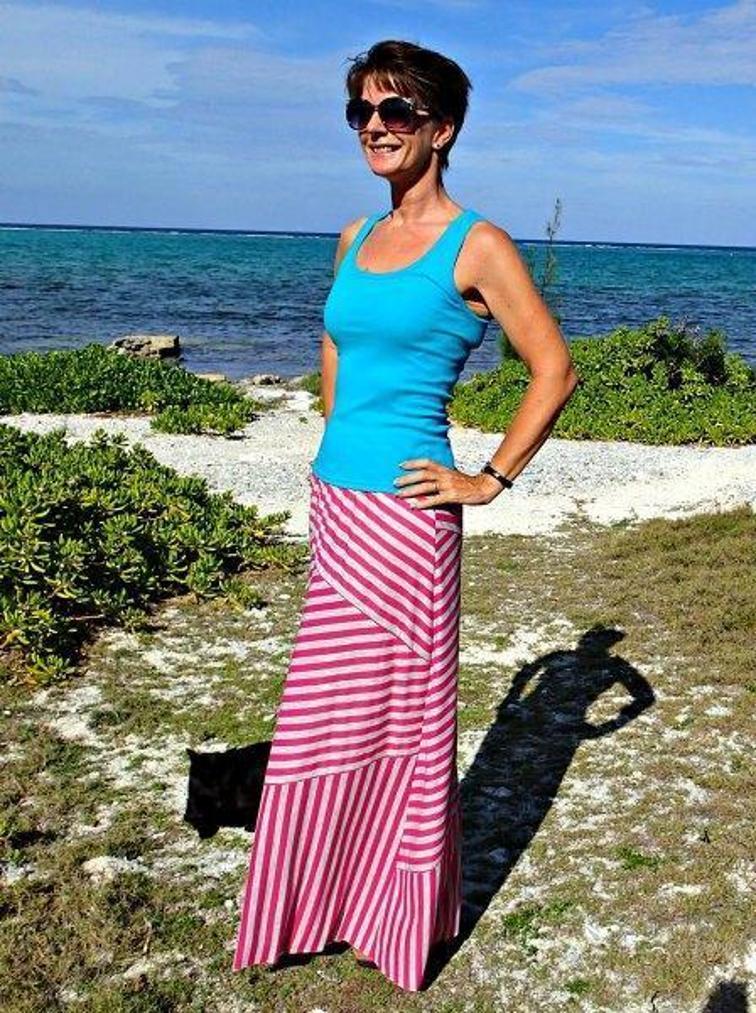 free summer maxi skirt pattern