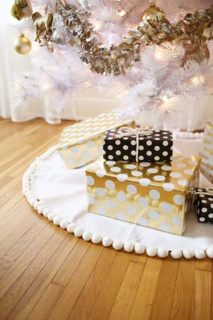 tree skirt diy