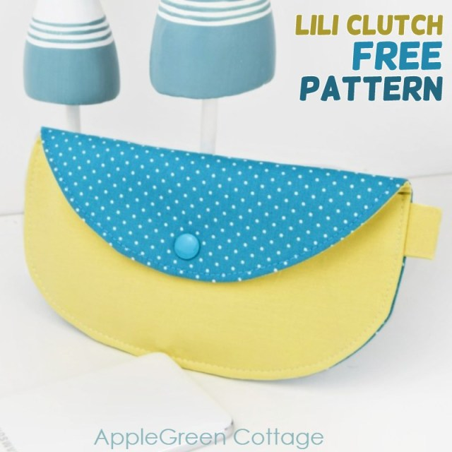 free clutch purse pattern