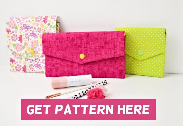pouch pattern - easy sewing pattern