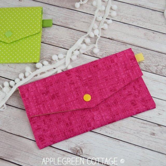 pouch pattern easy