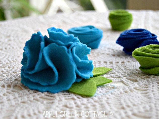 spring sewing projects for beginners - flowers