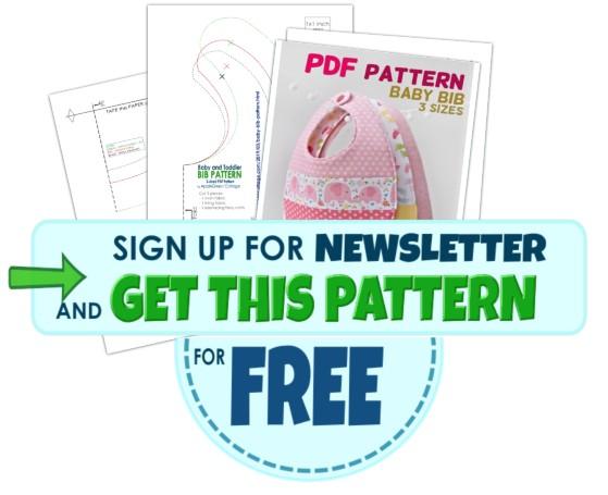 get bib pattern for free here