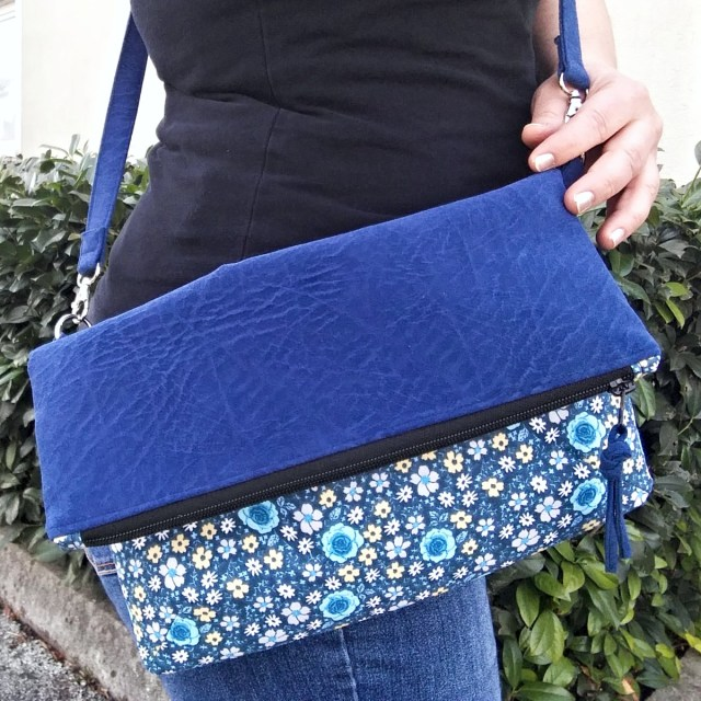 fold-over crossbody bag pattern