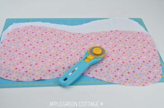 easy burp cloth free pattern