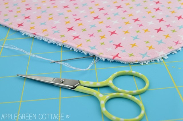 pattern for burp cloth