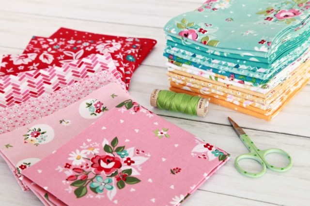 fabric for wallet pattern - Riley Blake Designs