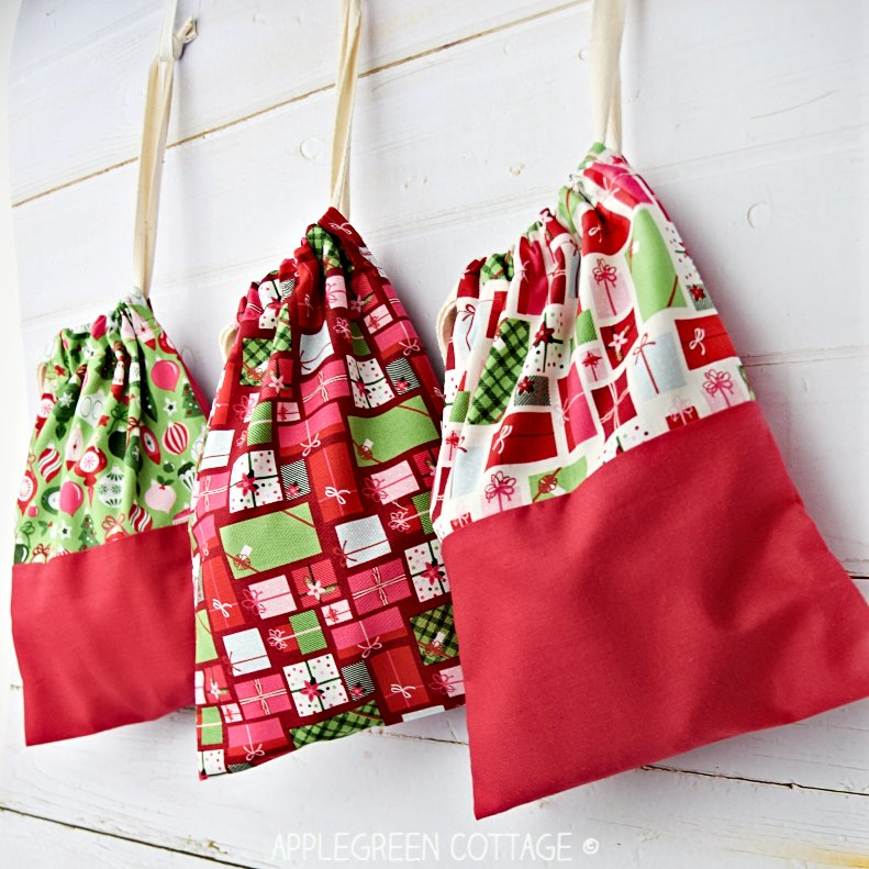 diy gift bag for holidays