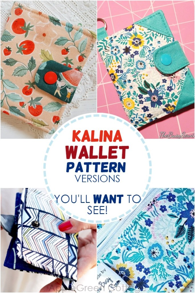Bifold Wallet Pattern – The 11 Cutest Kalina Testers Versions