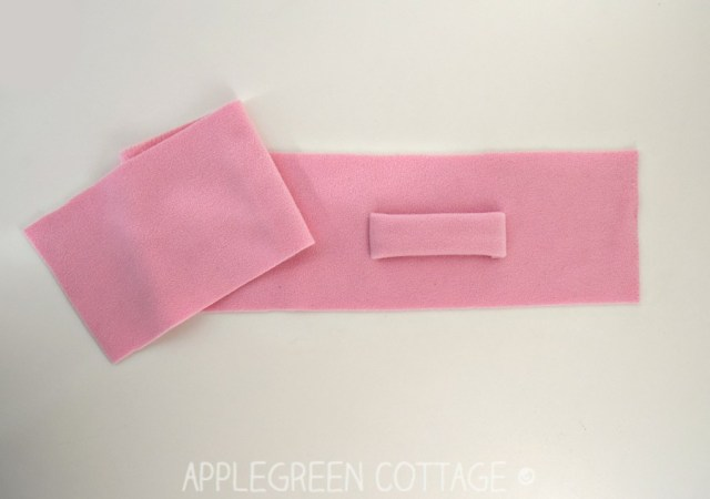 fleece scarf sewing tutorial