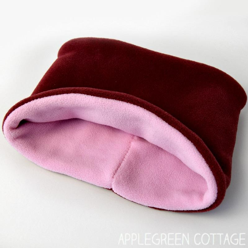 fleece neck warmer pattern