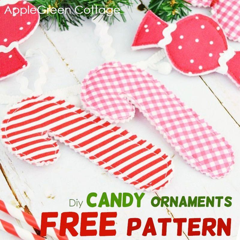 diy candy ornaments