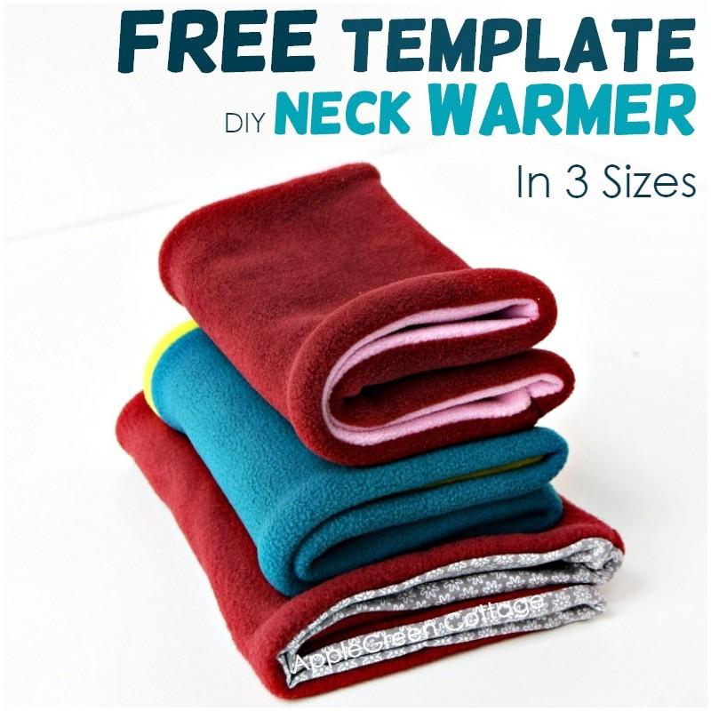 diy neck warmer