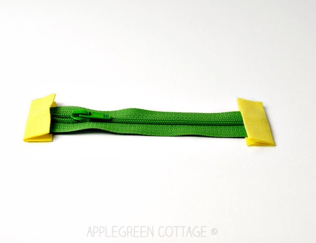 how to make zipper tabs