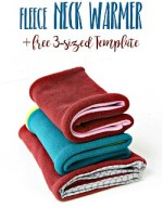 How To Make a Fleece Neck Warmer