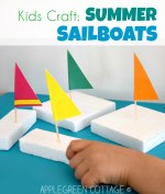 Sailboat Crafts For Kids