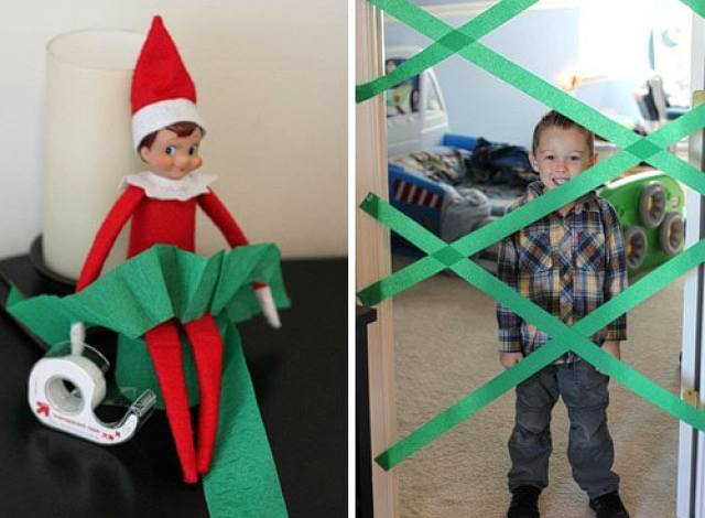 elf on the shelf ideas funny