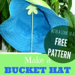 Cute Bucket Hat Tutorial