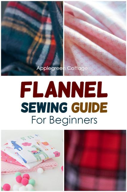 how to sew flannel