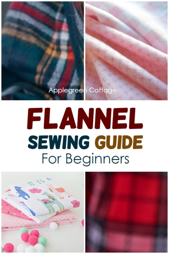 four different types of flannel