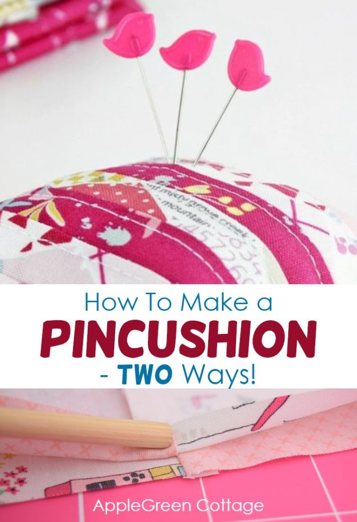 How To Make A Pincushion – Two Ways!
