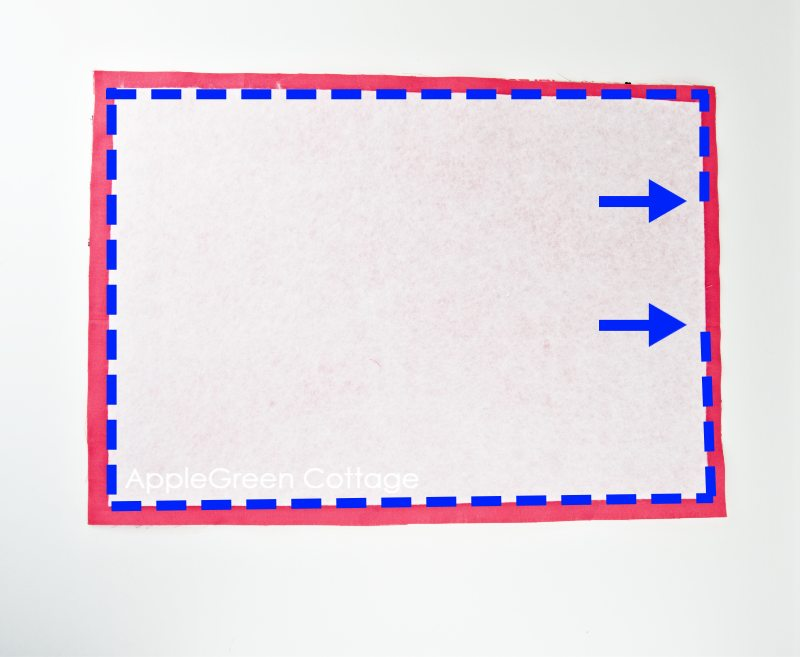 sewing placemat