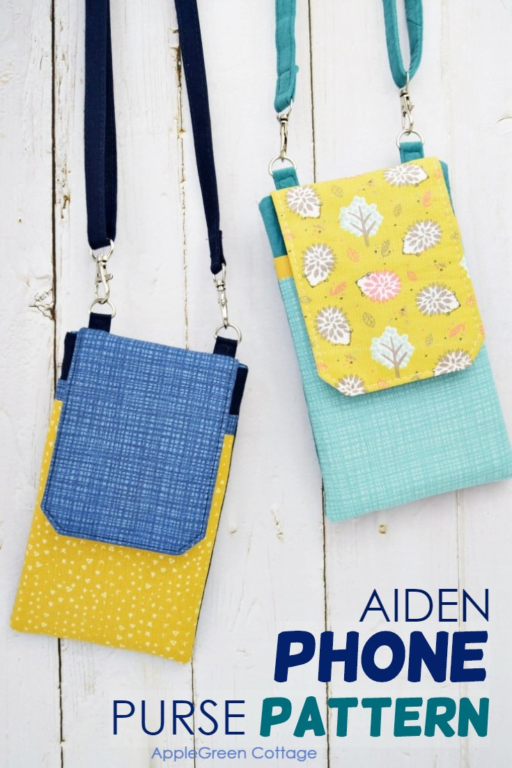 phone purse pattern with adjustable straps