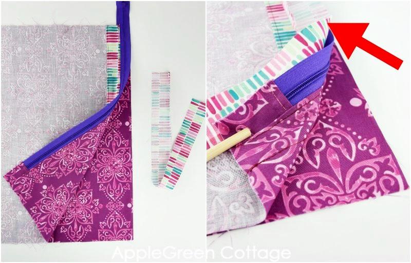 sewing storage bag