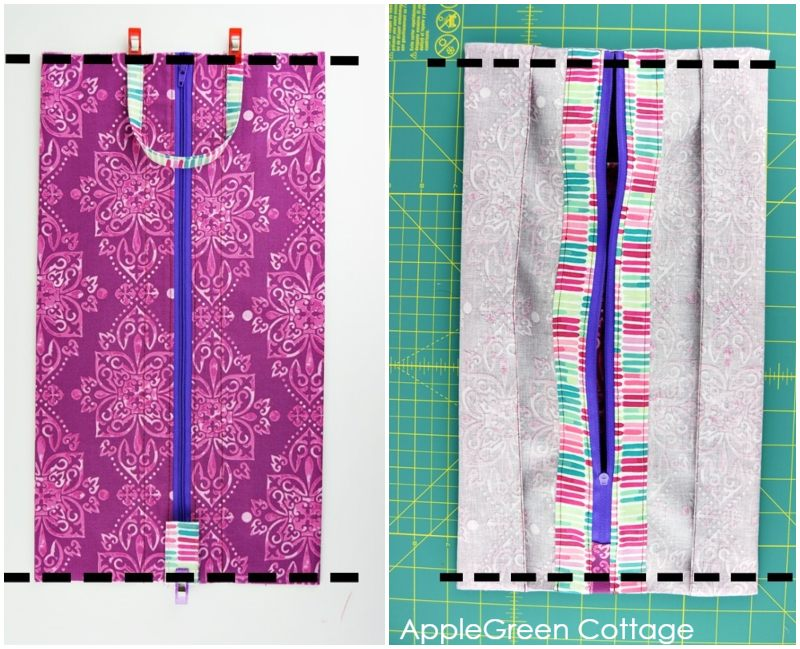 sewing diy storage bag