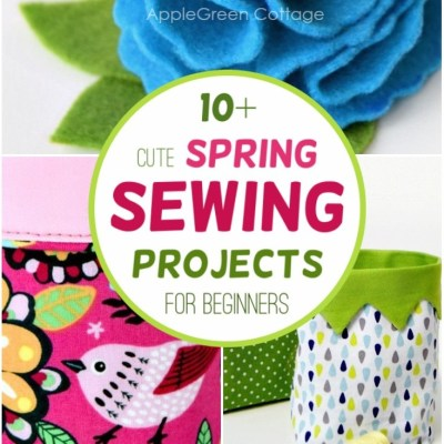 sewing for spring