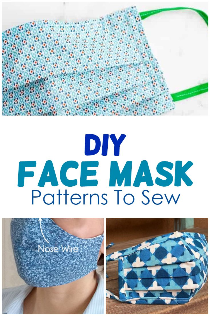 10 Diy Face Mask Patterns To Sew A Lot Of Helpful Info