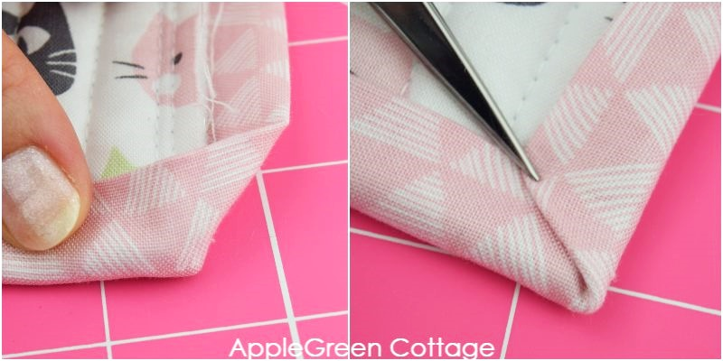quilt binding corners