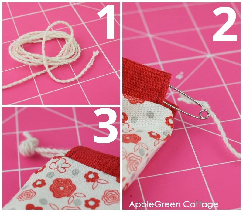 drawstring jewelry pouch pattern free