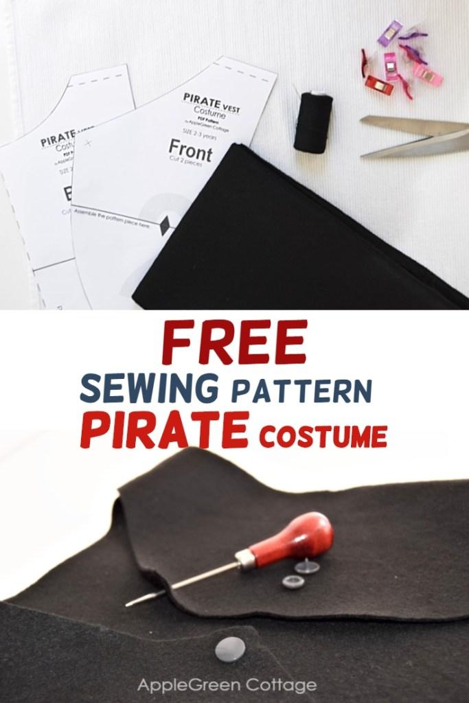 Diy Pirate Costume – Free Pattern