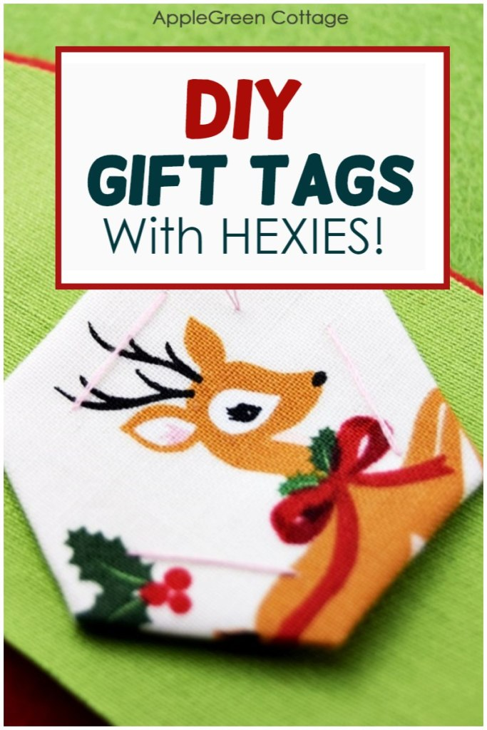 How To Make Gift Tags – With Hexies!
