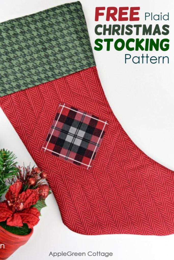 How To Make A Christmas Stocking – All About Plaids!