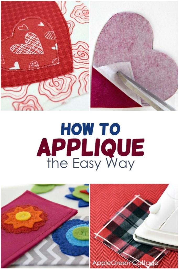 how to do applique