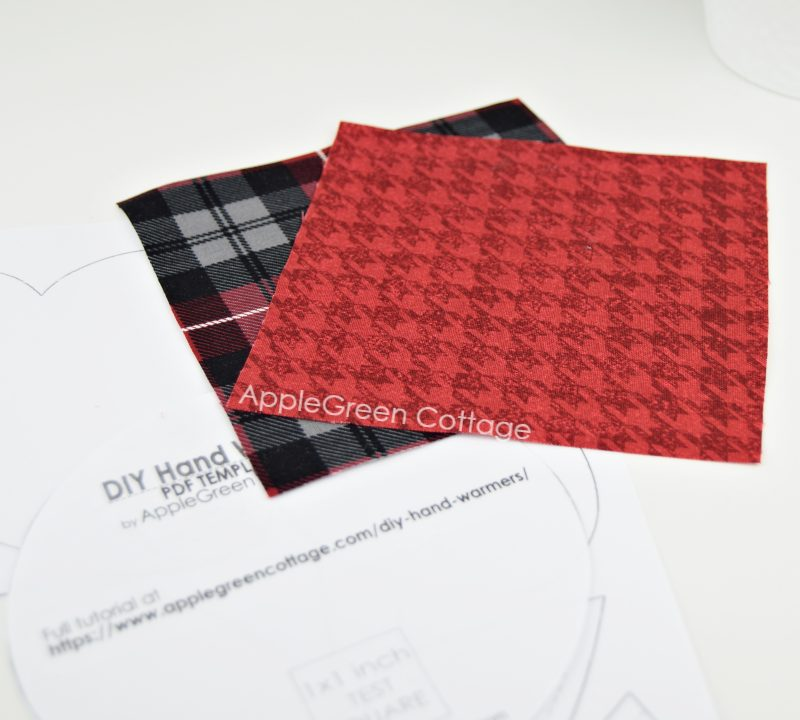 fabric for homemade hand warmers