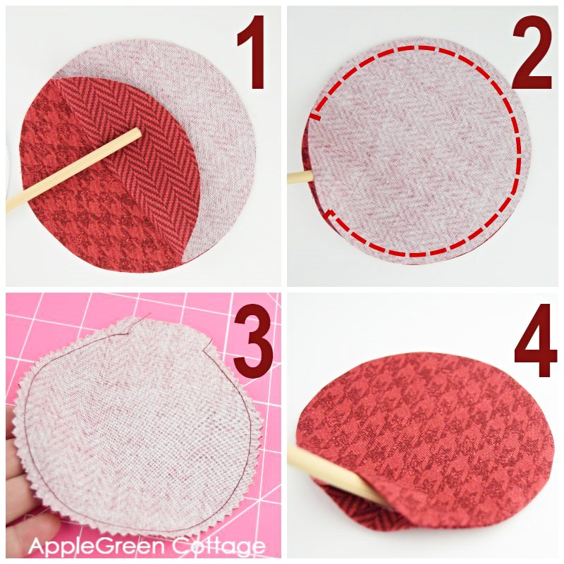 steps to sew diy hand warmers