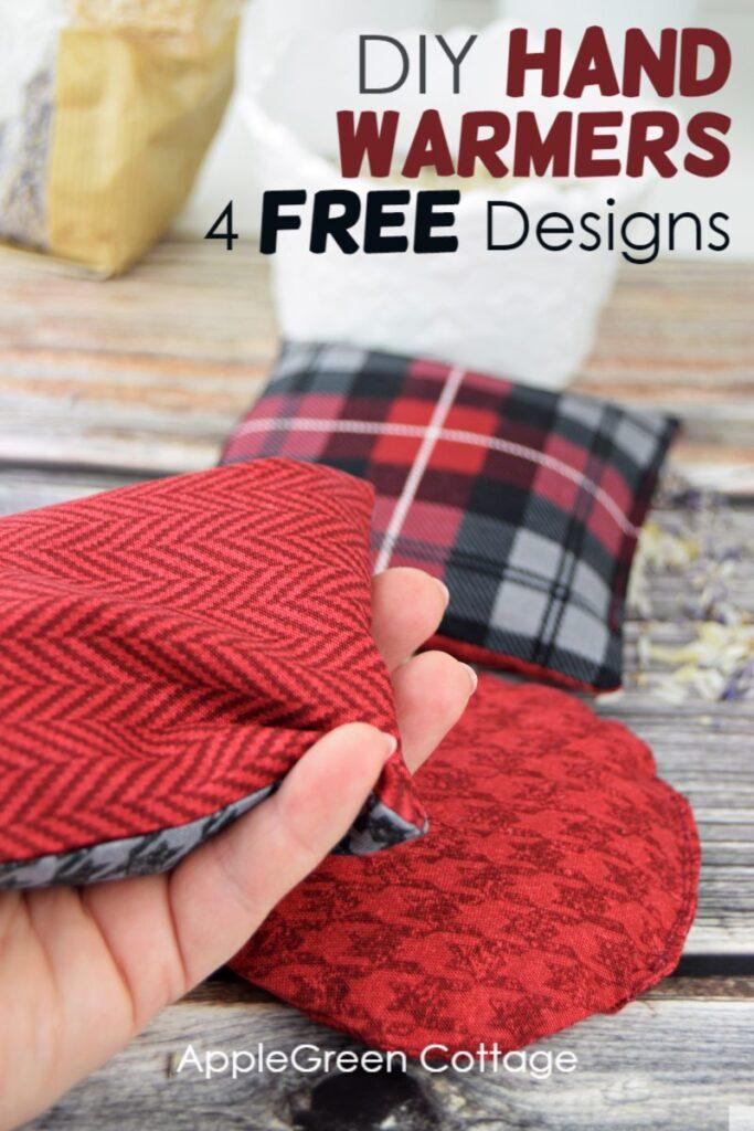diy hand warmers 4 free designs
