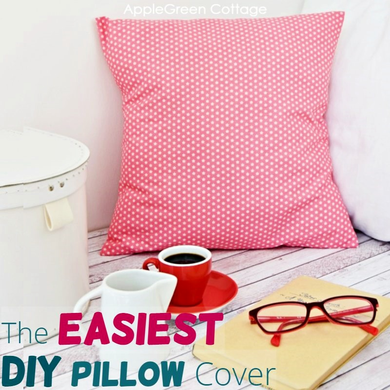 how to make a pillow cover in 15