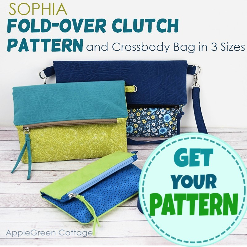 bag pattern with darts