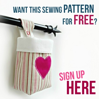 get free basket sewing pattern