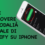 Anywhere, come rimuovere la modalità casuale di Spotify su iPhone